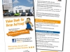 Flyer für Team Weser